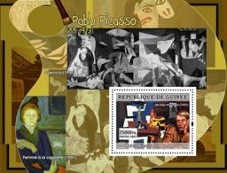 Guinea 2007 MNH - ART - Spanish Painters: Picasso. YT 597, Mi 4902/BL1296 - Guinea (1958-...)