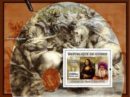 Guinea 2007 MNH - ART - Italian Painters: Leonardo Da Vinci. YT 591, Mi 4884/BL1278 - Guinea (1958-...)