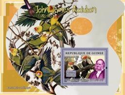 Guinea 2007 MNH - ART - Birds On Paintings: John James Audubon. YT 600, Mi 4881/BL1275 - Guinea (1958-...)