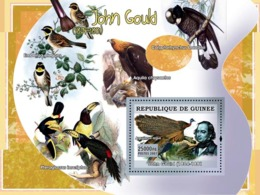 Guinea 2007 MNH - ART - Birds On Paintings: John Gould. YT 602, Mi 4882/BL1276 - Guinée (1958-...)