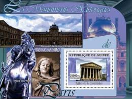 Guinea 2007 MNH - ART - Historical Monuments Of Paris: Eglise De La Madeleine. YT 605, Mi 4849/BL1267 - Guinée (1958-...)