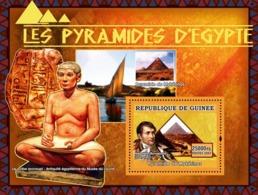 Guinea 2007 MNH - ART - Pyramids Of Egypt: Pyramide De Mykerinos, Napoleon Bonapart. YT 687, Mi 4790/BL1241 - Guinea (1958-...)