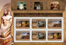 Guinea 2007 MNH - ART - Museum Of Louvre. YT 3017-3019, Mi 4842-4844 - Guinée (1958-...)