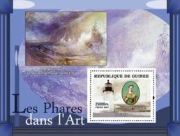 Guinea 2007 MNH - ART - Lighthouses In Art: Easterly. YT 616, Mi 4826/BL1259 - Guinea (1958-...)