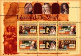 Guinea 2007 MNH - ART - Leonard Da Vinci. YT 3020-3022, Mi 4791-4793 - Guinea (1958-...)