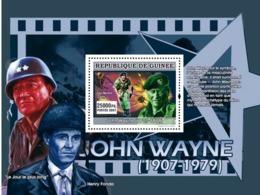 Guinea 2007 MNH - CINEMA: John Wayne: Les Berets Verts. YT 641, Mi 5005/BL1339 - Guinea (1958-...)