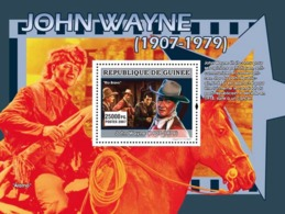 Guinea 2007 MNH - CINEMA: John Wayne: Rio Bravo. YT 640, Mi 5006/BL1340 - Guinea (1958-...)