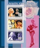 Guinea 2007 MNH - CINEMA: Marilyn Monroe. YT 3038-3040, Mi 4968-4970 - Guinea (1958-...)