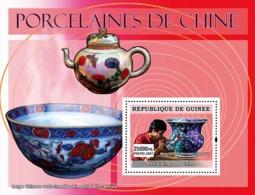 Guinea 2007 MNH - ART - Chinese Porcelains: Large Chinese Verte-imari Bowl, Early 18th Century. YT 638, Mi 4838/BL1265 - Guinea (1958-...)