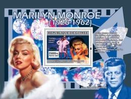 Guinea 2007 MNH - CINEMA: Marilyn Monroe: Certains L'aiment Chaud, J.F.Kennedy. YT 643, Mi 5008/BL1342 - Guinea (1958-...)