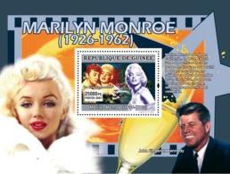 Guinea 2007 MNH - CINEMA: Marilyn Monroe: La Riviere Sans Retour, J.F.Kennedy. YT 644, Mi 5009/BL1343 - Guinea (1958-...)