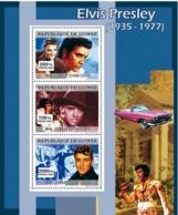 Guinea 2007 MNH - MUSIC: Elvis Presley. YT 3074-3076, Mi 4905-4907 - Guinea (1958-...)