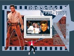 Guinea 2007 MNH - MUSIC: Elvis Presley: Elvis Devient Une Idole Pour Les Jeunes. YT 680, Mi 4928/BL1301 - Guinea (1958-...)