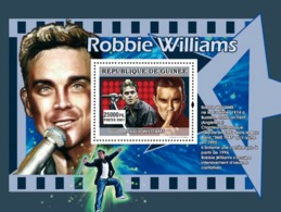 Guinea 2007 MNH - MUSIC: Stars Males: Robbie Williams. YT 686, Mi 4937/BL1310 - Guinea (1958-...)