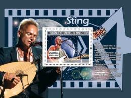 Guinea 2007 MNH - MUSIC: Stars Males: Sting. YT 685, Mi 4936/BL1309 - Guinea (1958-...)