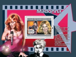 Guinea 2007 MNH - MUSIC: Stars Females: Madonna. YT 688, Mi 4942/BL1315 - Guinea (1958-...)