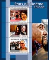 Guinea 2007 MNH - CINEMA: Chinese Stars. YT 3065-3067, Mi 4977-4979 - Guinea (1958-...)