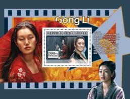 Guinea 2007 MNH - CINEMA: Chinese Stars: Gong Li. YT 670, Mi 5017/BL1351 - Guinea (1958-...)
