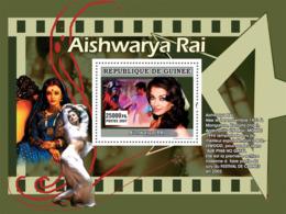 Guinea 2007 MNH - CINEMA: Indian Stars: Aishwarya RAI. YT 672, Mi 5013/BL1347 - Guinea (1958-...)