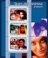 Guinea 2007 MNH - CINEMA: Indian Stars YT 3068-3070, Mi 4974-4976 - Guinea (1958-...)
