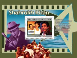 Guinea 2007 MNH - CINEMA: Indian Stars: Shahrukh KHAN. YT 674, Mi 5015/BL1349 - Guinea (1958-...)