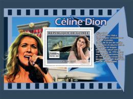 Guinea 2007 MNH - MUSIC: Stars Females: Celine Dion. YT 690, Mi 4944/BL1317 - Guinea (1958-...)