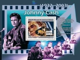 Guinea 2007 MNH - MUSIC: Stars Males: Johny Casch. YT 694, Mi 4939/BL1312 - Guinea (1958-...)