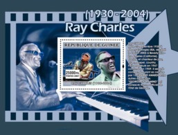 Guinea 2007 MNH - MUSIC: Stars Males: Roy Charles. YT 695, Mi 4940/BL1313 - Guinea (1958-...)