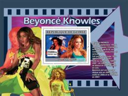 Guinea 2007 MNH - MUSIC: Stars Females: Beyonce Knowles. YT 692, Mi 4946/BL1319 - Guinea (1958-...)