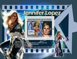 Guinea 2007 MNH - MUSIC: Stars Females: Jennifer Lopez. YT 691, Mi 4945/BL1318 - Guinea (1958-...)