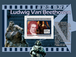 Guinea 2007 MNH - MUSIC: Composers: Ludwig Van Beethoven. YT 697, Mi 4930/BL1303 - Guinea (1958-...)
