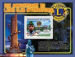 Guinea 2007 MNH - CELEBRITES-90th Anniversary Of LIONS Club International: Residence. YT 753, Mi 5046/BL1378 - Guinea (1958-...)