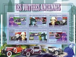 Guinea 2007 MNH - TRANSPORTS-Classic Automobiles. YT 3161-3166, Mi 5199-5204 - Guinea (1958-...)