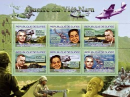 Guinea 2007 MNH - TRANSPORTS-War Of Vietnam. YT 3172-3177, Mi 5172-5177 - Guinea (1958-...)