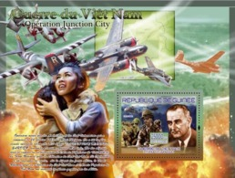 Guinea 2007 MNH - TRANSPORTS-War Of Vietnam: HMH-362 (helicopter). YT 770, Mi 5180/BL1440 - Guinea (1958-...)