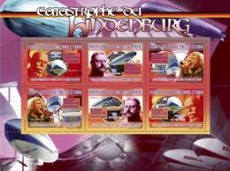 Guinea 2007 MNH -TRANSPORTS-Hindenburgs Catastrophe. YT 3197-3202, Mi 5250-5255 - Guinea (1958-...)