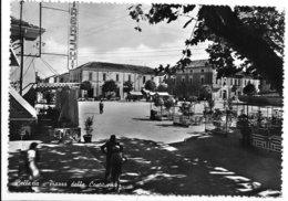 Bellaria (Rimini). Piazza Della Costituente. Tabella Birra Dreher A Destra Nella Staccionata. - Rimini