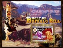 Guinea 2007 MNH -TRANSPORTS-Buffalo Bill (1846-1917): Buffalo Bill Wild West Show. YT 785, Mi 5161/BL1433 - República De Guinea (1958-...)