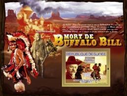 Guinea 2007 MNH -TRANSPORTS-Buffalo Bill (1846-1917): Pony Express. YT 784, Mi 5162/BL1434 - República De Guinea (1958-...)