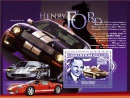 Guinea 2007 MNH -TRANSPORTS-Henri Ford (1863-1947): Ford 49. YT 788, Mi 5220/BL1450 - Guinea (1958-...)