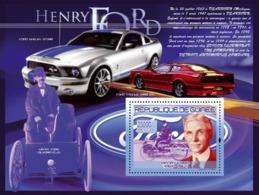 Guinea 2007 MNH -TRANSPORTS-Henri Ford (1863-1947): Premiere Voiture De Ford (Quadricycle). YT 786, Mi 5221/BL1451 - Guinea (1958-...)