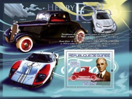 Guinea 2007 MNH -TRANSPORTS-Henri Ford (1863-1947): Ford Model T Roadster. YT 787, Mi 5222/BL1452 - Guinea (1958-...)