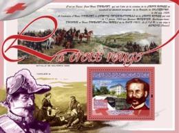 Guinea 2007 MNH -TRANSPORTS-Red Cross: Henry Dunant (Napoleon III,Bataile Solferino 1859). YT 795, Mi 5151/BL1429 - Guinée (1958-...)