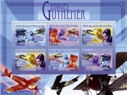 Guinea 2007 MNH -TRANSPORTS-Georges Guynemer (1894-1917). YT 3215-3220, Mi 5226-5231 - Guinea (1958-...)