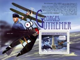 Guinea 2007 MNH -TRANSPORTS-Georges Guynemer (1894-1917): G.Guynemer, Spad SXIII. YT 789, Mi 5256/BL1456 - Guinea (1958-...)