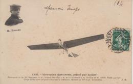 CPA Monoplan Antoinette, Piloté Par Kuller - Aviateurs