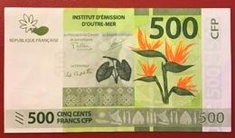 Polynésie Française - 500 FCFP - 2018 / Nouvelles Signatures - Neuf  / Jamais Circulé - Papeete (Polinesia Francese 1914-1985)