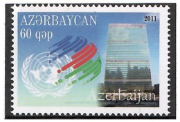Azerbaijan 2011. UN Security Council. 1v:60.  Michel # 892 - Azerbaiján