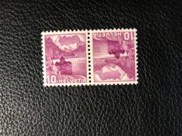 Schweiz Kehrdrucke Zumstein-Nr. K33z ** Postfrisch - Tête-Bêche