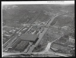 1964  --  LE PORT DE LILLE SUR LA DEULE  VUE AERIENNE  3R543 - Vieux Papiers